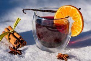 Heisse Getränke für den Winter, Punsch